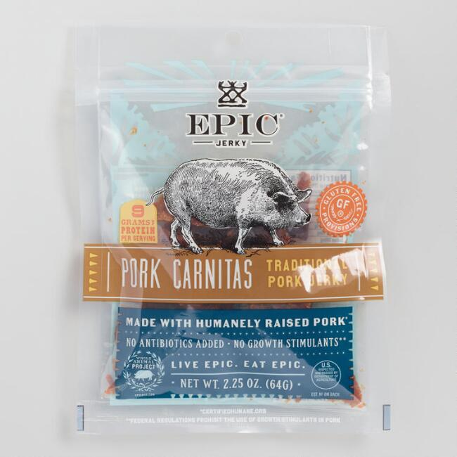 Epic Pork Carnitas Jerky