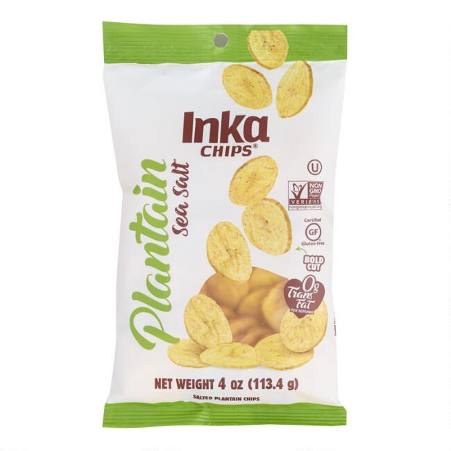 Inka Sea Salt Plantain Chips