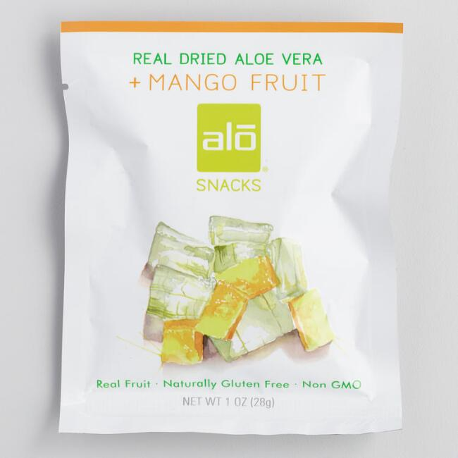 Alo Dried Aloe Vera and Mango Snack