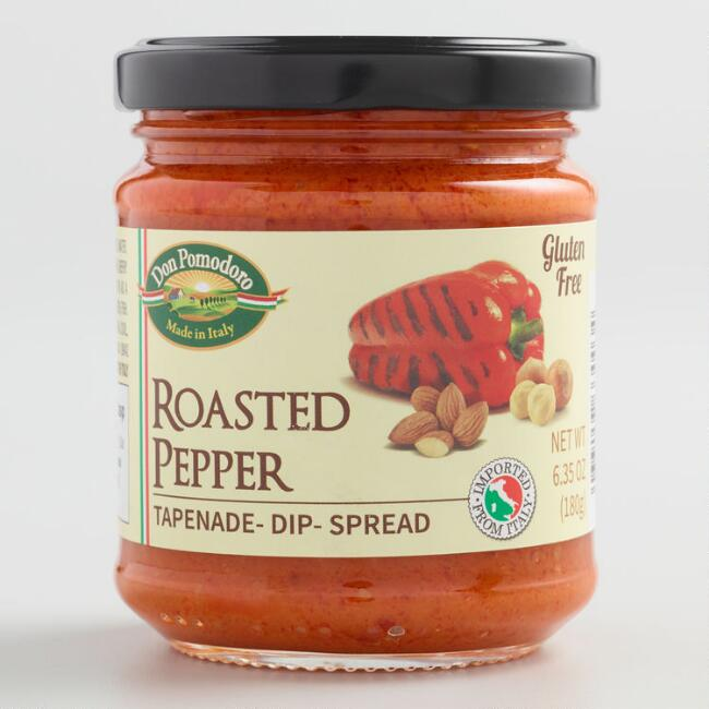 Don Pomodoro Roasted Red Peppers Tapenade