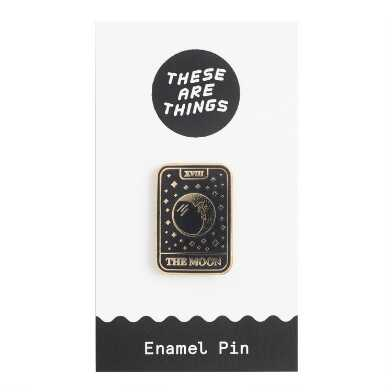 Moon Tarot Card Enamel Pin