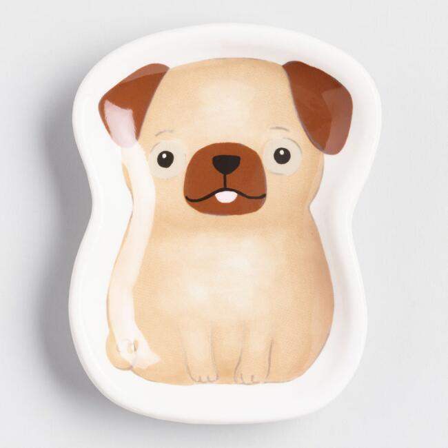 Small Dog Trinket Dish