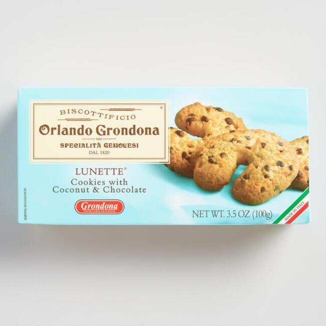 Orlando Grondona Lunette Coconut Chocolate Chip Cookies