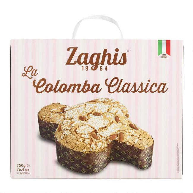 Zaghis Colomba Classica Easter Dove Cake