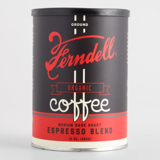 Ferndell Espresso Blend Organic Ground Coffee