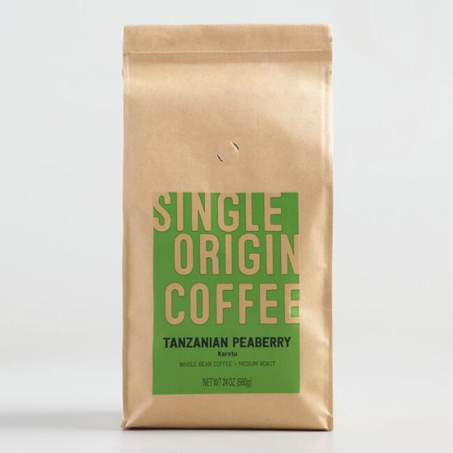 Single Origin Tanzanian Peaberry Coffee