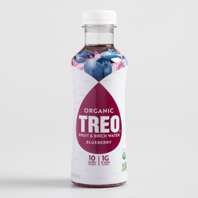 Treo Organic Blueberry Fruit and Birch Water