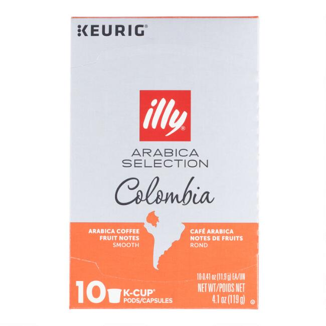 Illy Arabica Selection Colombia Coffee K-Cup 10 Count