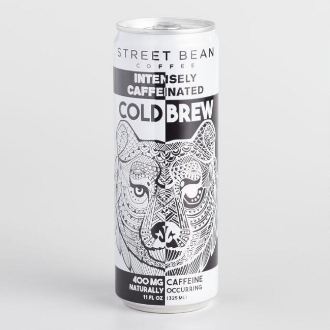 Street Bean Coffee Cold Brew Can