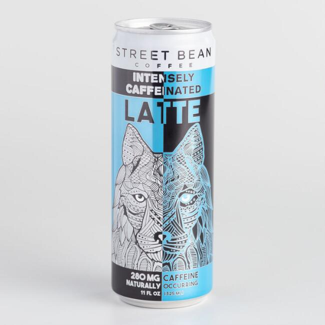 Street Bean Coffee Latte Can