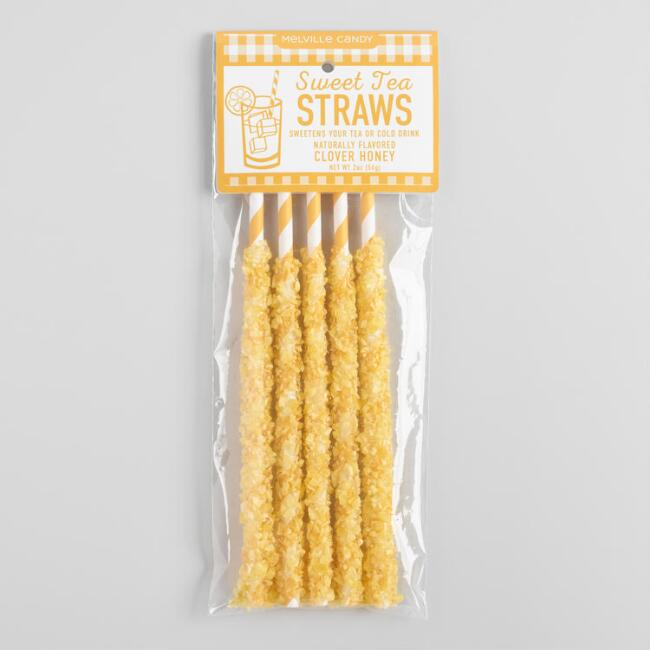 Melville Sweet Tea Candy Straws 5 Pack
