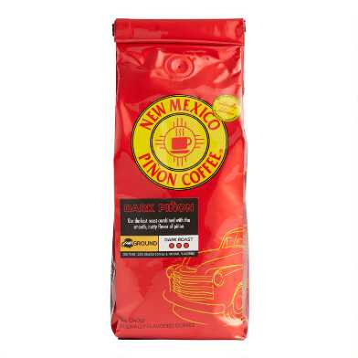 New Mexico Pinon Coffee Dark Roast Ground Coffee