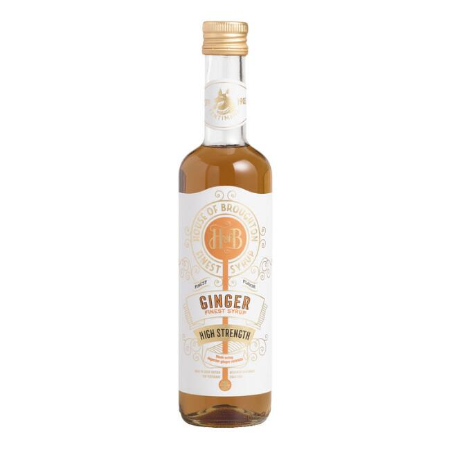 House of Broughton Premium Ginger Syrup