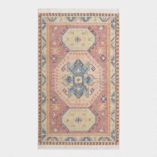 b039f94bc882 Red Persian Style Kilim Santiago Indoor Outdoor Rug