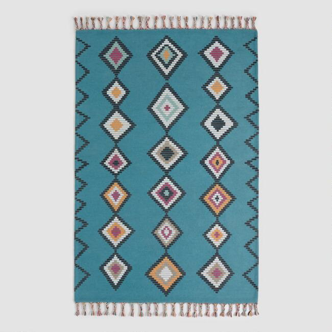 Blue Diamond Moroccan Style Montego Indoor Outdoor Rug