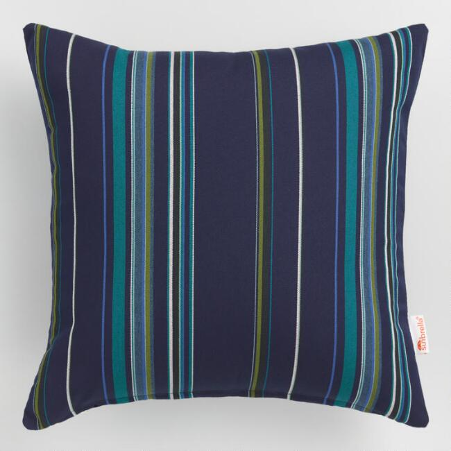 Sunbrella Cool Stripe Stanton Outdoor Throw Cushion