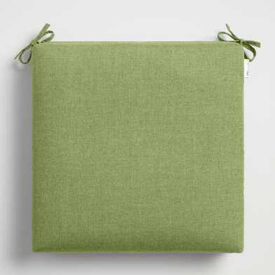 Sunbrella Moss Green Cast Outdoor Chair Cushion
