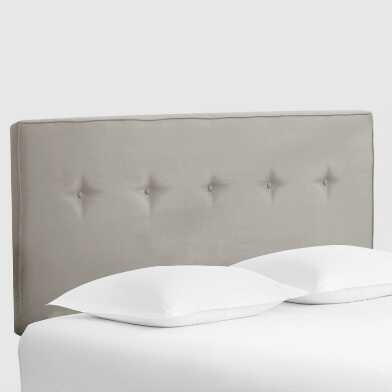 Velvet Tufted Donnon Upholstered Headboard
