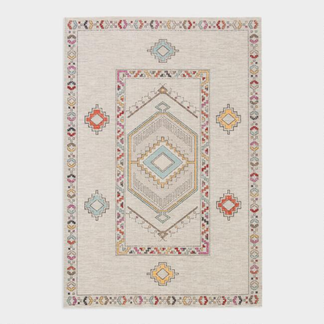 Multicolor Indio Indoor Outdoor Area Rug