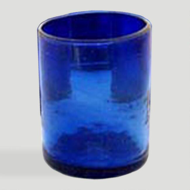 Novica Cobalt Dreams Tumblers, Set of 6
