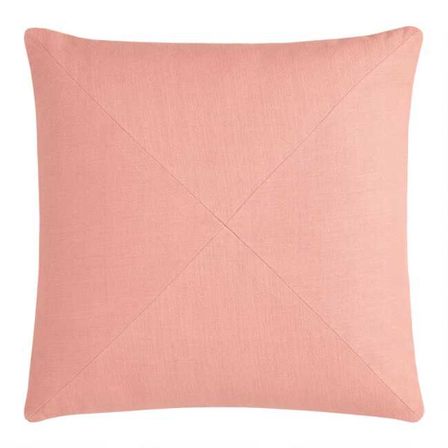 Remarkable Terracotta Herringbone Cotton Throw Pillow Andrewgaddart Wooden Chair Designs For Living Room Andrewgaddartcom