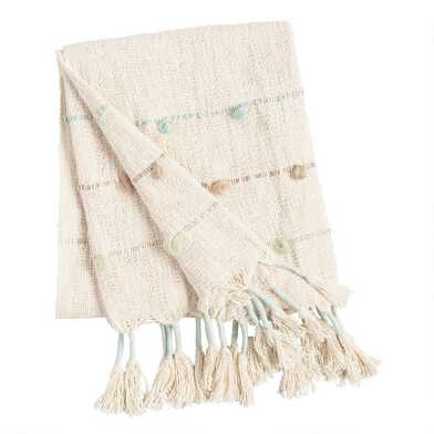 Cool Tassel Aria Throw Blanket