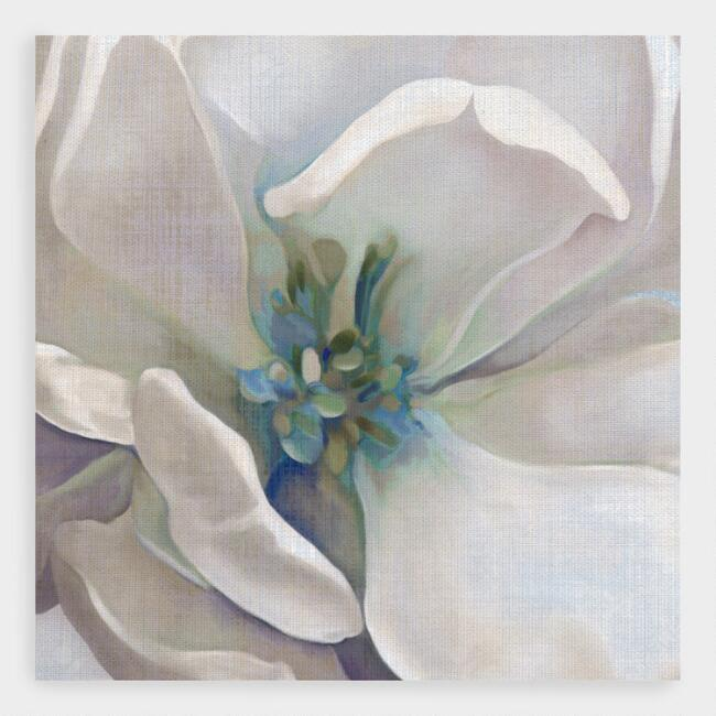 Iridescent Bloom I Blue Close by Carol Robinson Wall Art