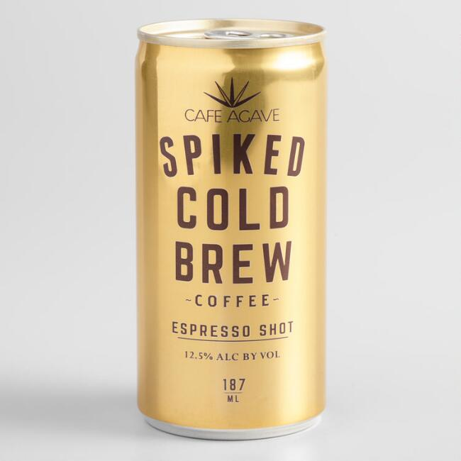 Cafe Agave Espresso Shot Spiked Cold Brew Can