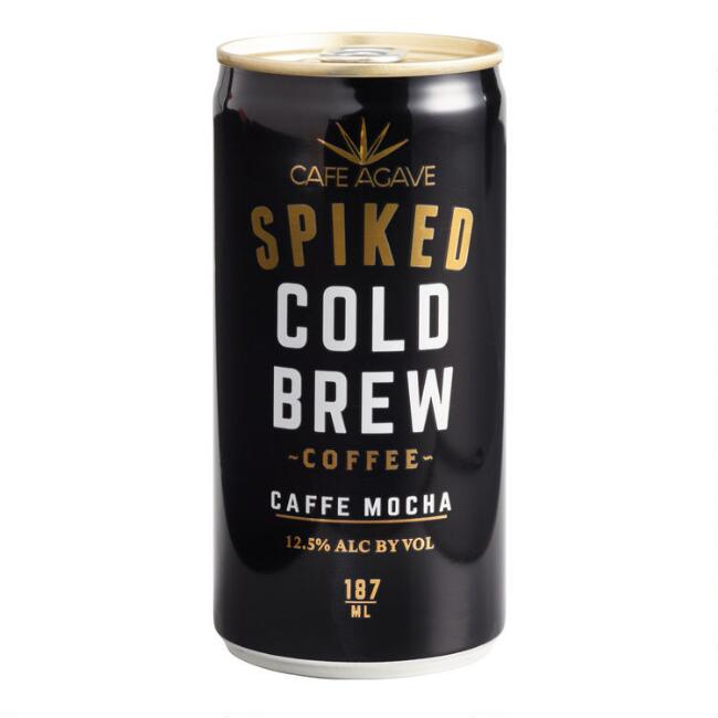 Cafe Agave Caffe Mocha Spiked Cold Brew Can