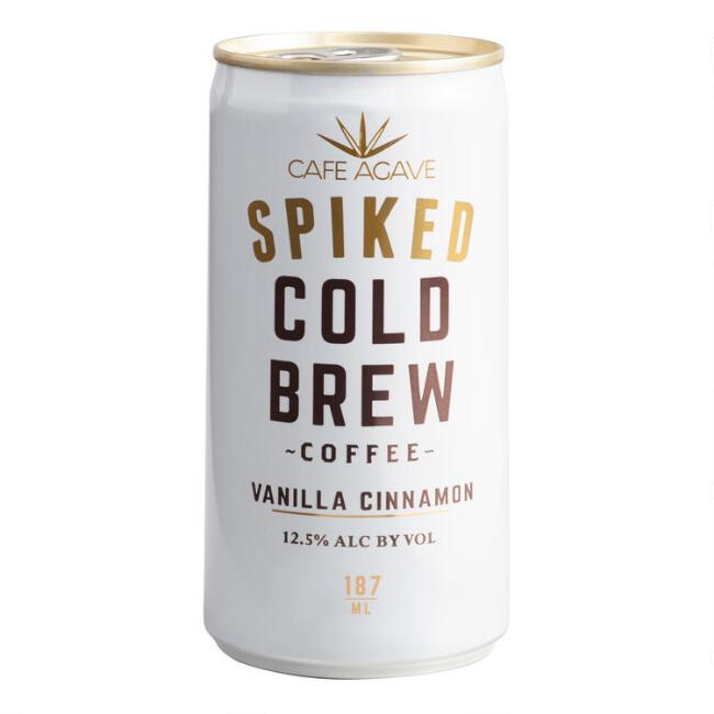 Cafe Agave Vanilla Cinnamon Spiked Cold Brew Can