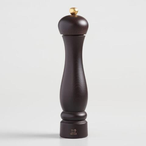 Large Peugeot Chocolate Wood Clermont Pepper Mill