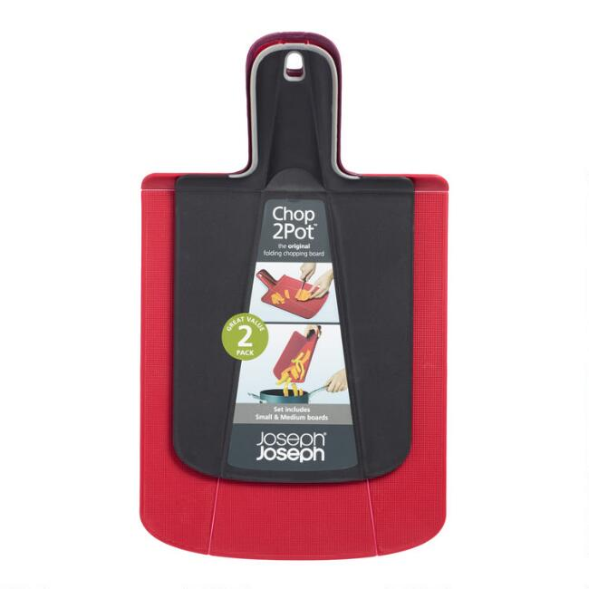 Joseph Joseph Chop2Pot Folding Cutting Board 2 Piece Set