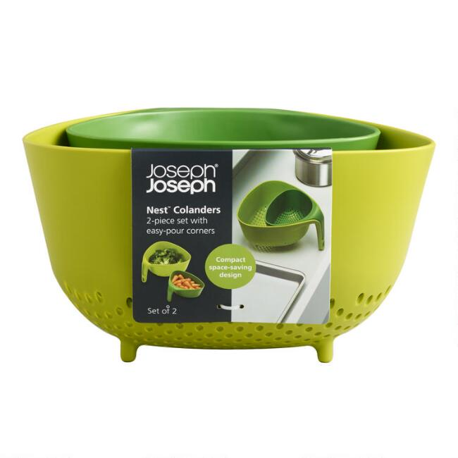 Joseph Joseph Nest 2 Piece Stacking Colander Set