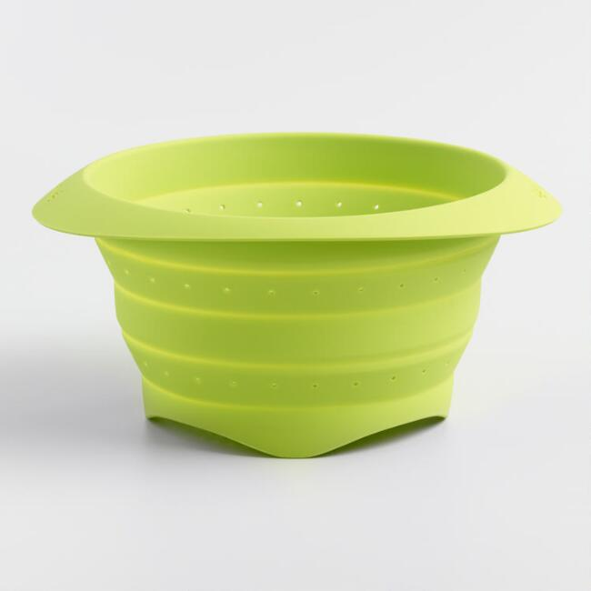 Lekue Mini Collapsible Silicone Colander