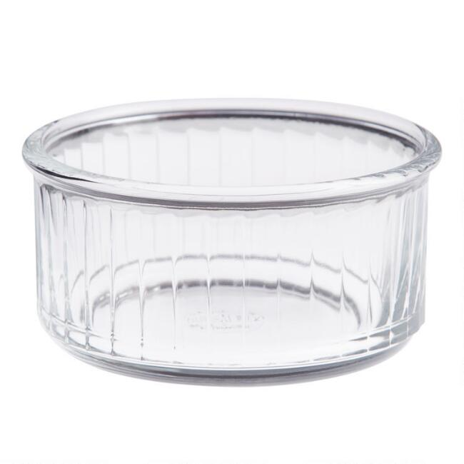 Duralex Glass Baking Ramekins 4 Pack