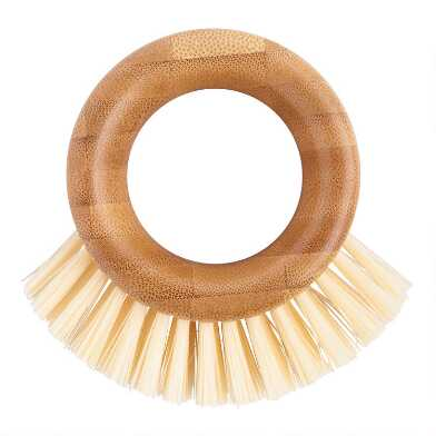 Full Circle The Ring Bamboo Veggie Brush