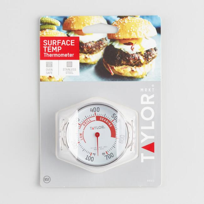 Taylor Barbecue Grill Surface Thermometer