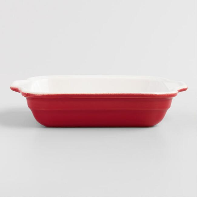 Red Emile Henry Modern Classics Individual Ceramic Baker