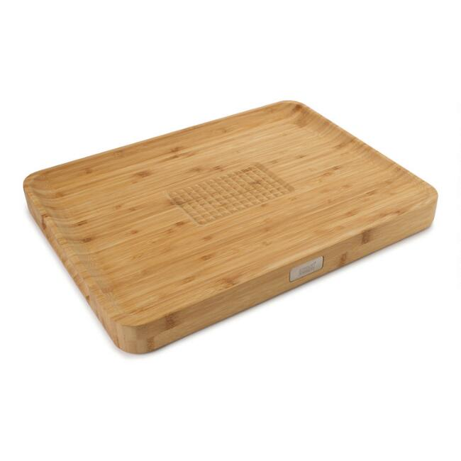 Joseph Joseph Cut and Carve Reversible Bamboo Cutting Board