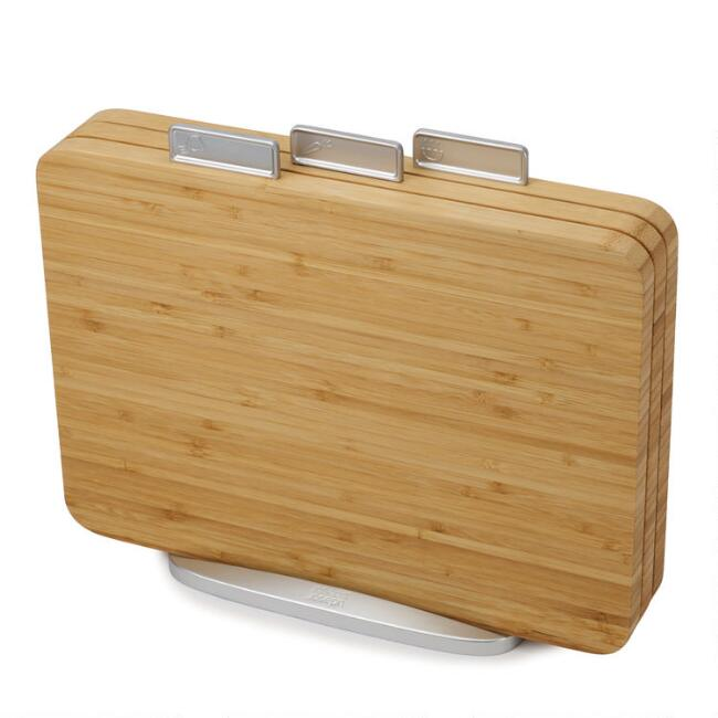 Joseph Joseph Index 4 Piece Bamboo Cutting Board Set