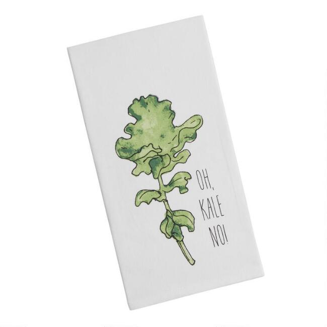 Oh Kale No Kitchen Towel