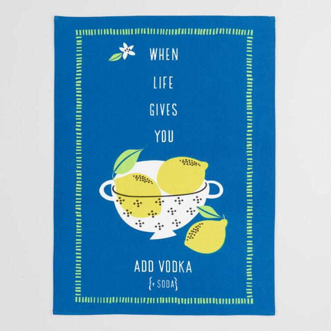 When Life Gives You Lemons Kitchen Towel