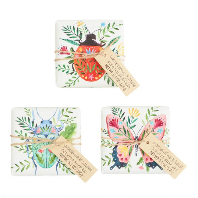 Castelbel Floral Critters Bar Soap Collection