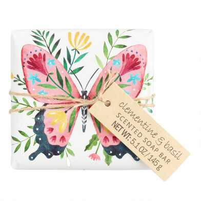 Castelbel Floral Critters Clementine and Basil Bar Soap