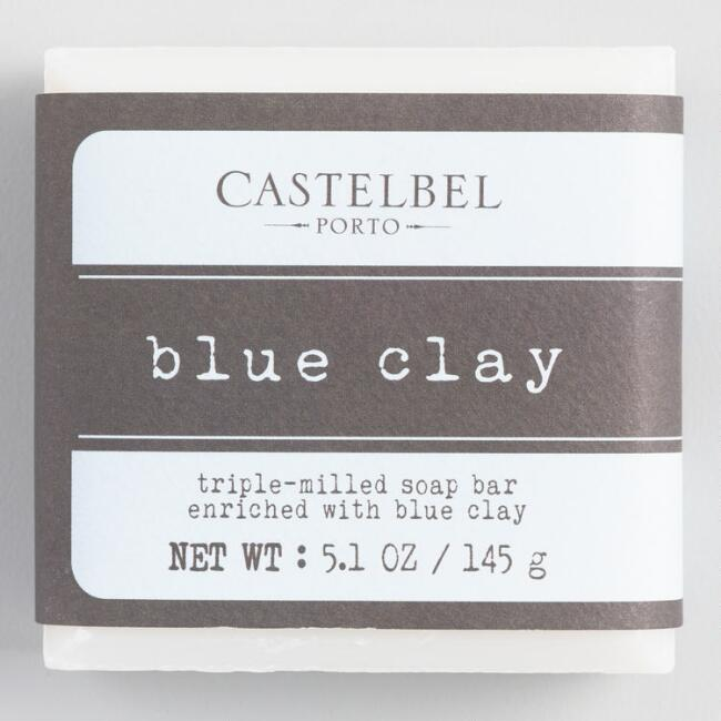 Castelbel Extracts Blue Clay Bar Soap