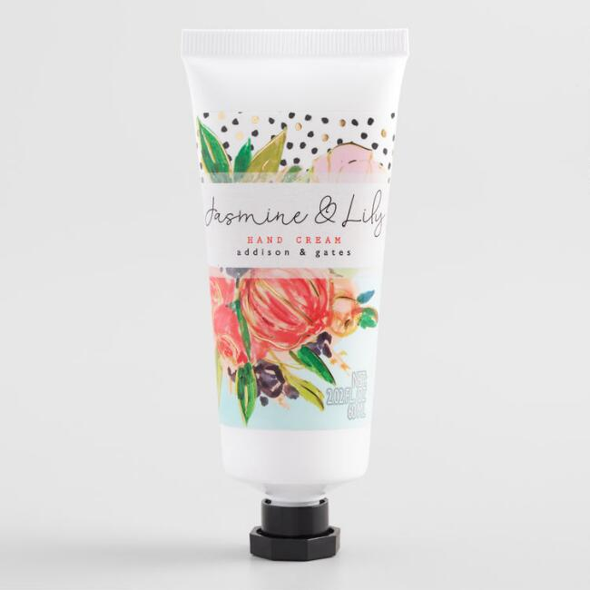A&G Floral Dot Jasmine and Lily Hand Cream Set of 2