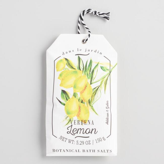 A&G Garden Fruits Verbena Lemon Bath Salts 2 Pack