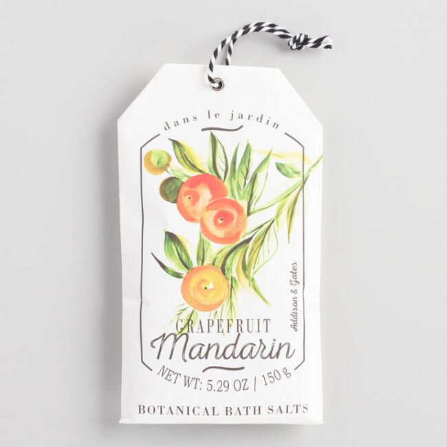 A&G Garden Fruits Grapefruit Mandarin Bath Salts 2 Pack