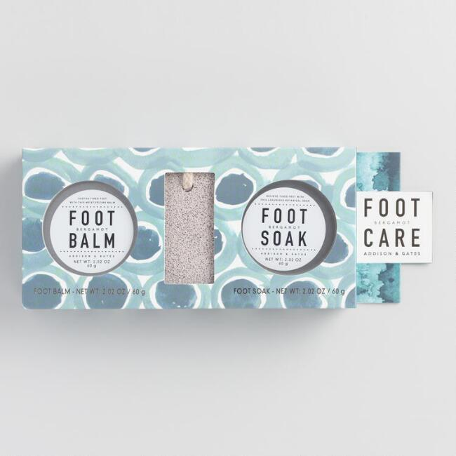A&G Botanicals Bergamot Foot Care Kit