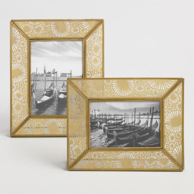 Antiqued Brass Blair Frame